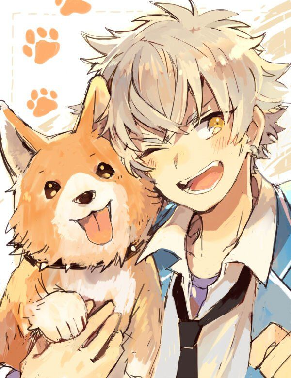 4fa08c3841fdaff6b60d361e42227f50 Anime Dogs Boy And Dog