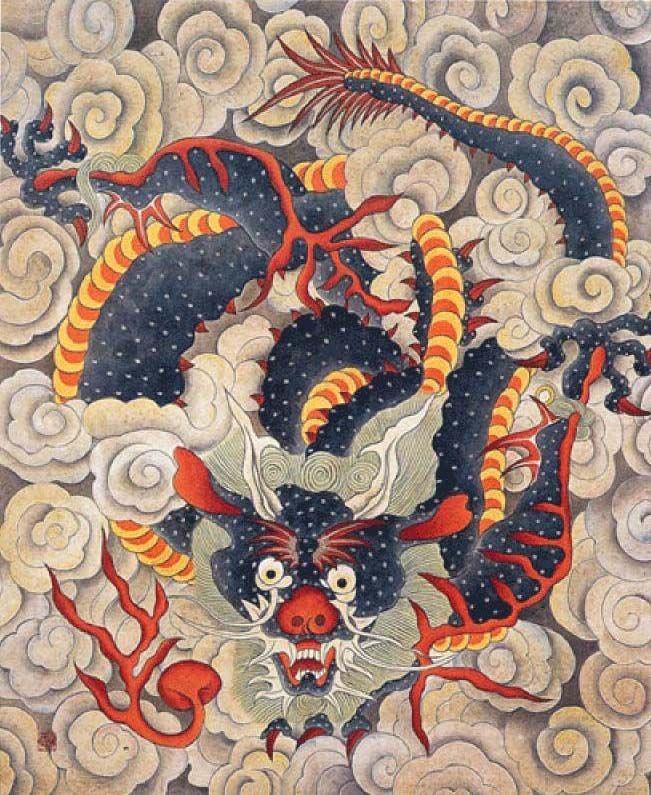 Korean Dragon: 866171ceae8679d7463ebe8ca65e1dab--korean-art