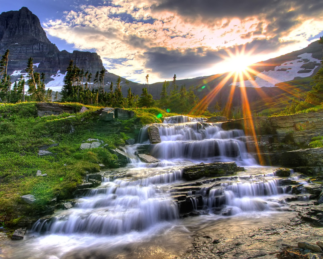 Waterfalls Nature Wallpapers Wallpaper 4