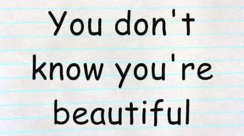 Video - One Direction - What Makes You Beautiful Lyrics