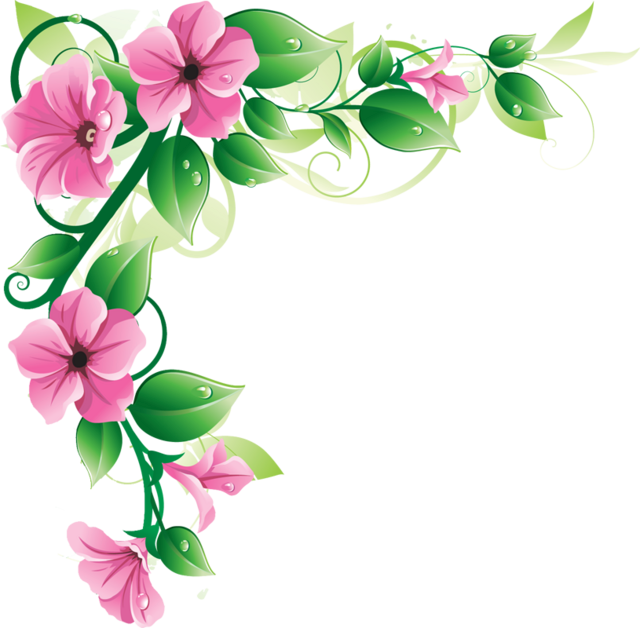 Image pink flower borderg animal jam clans wiki fandom pink flower borderg mightylinksfo
