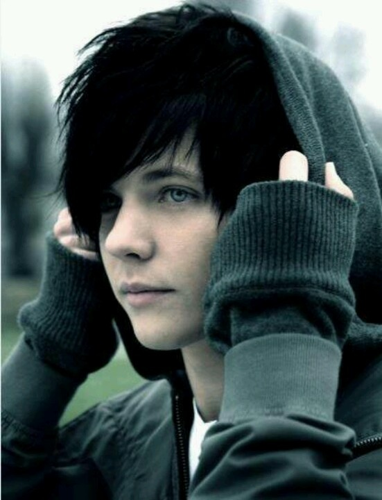 Cute Boy With Black Hair And Green Eyes Best Black Hair In The World