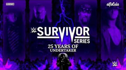 """WWE- The Undertaker - """"Rest In Peace"""" (Piano) - 25 Years Of Undertaker"""