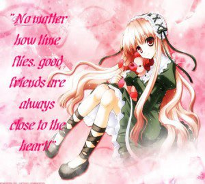 Anime Quotes About Friendship Magnificent Image  1481403651Animequotesaboutfriendship11  Animal