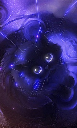 File4090371069666e849075b465703e7ae3 Moon Kitten This Is Live Wallpaper Of Cute Kitty Looking Thru