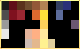 Acceptable Pelt Colors (From Thisisnotarealclan Clan)