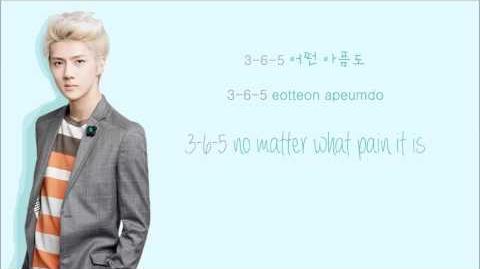 EXO-K - 3.6.5 (Color Coded Hangul Rom Eng Lyrics)