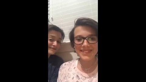 Noah Schnapp teases Millie Bobby Brown for Jacob Sartorius
