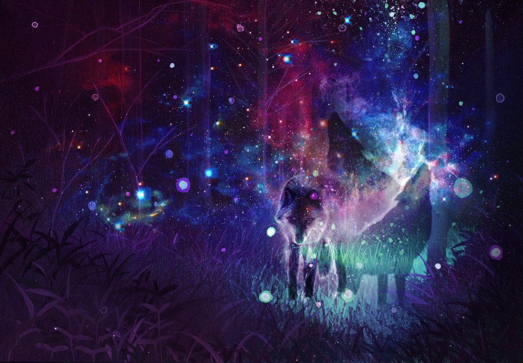Magic Wolf By Pytajka D88vzx5