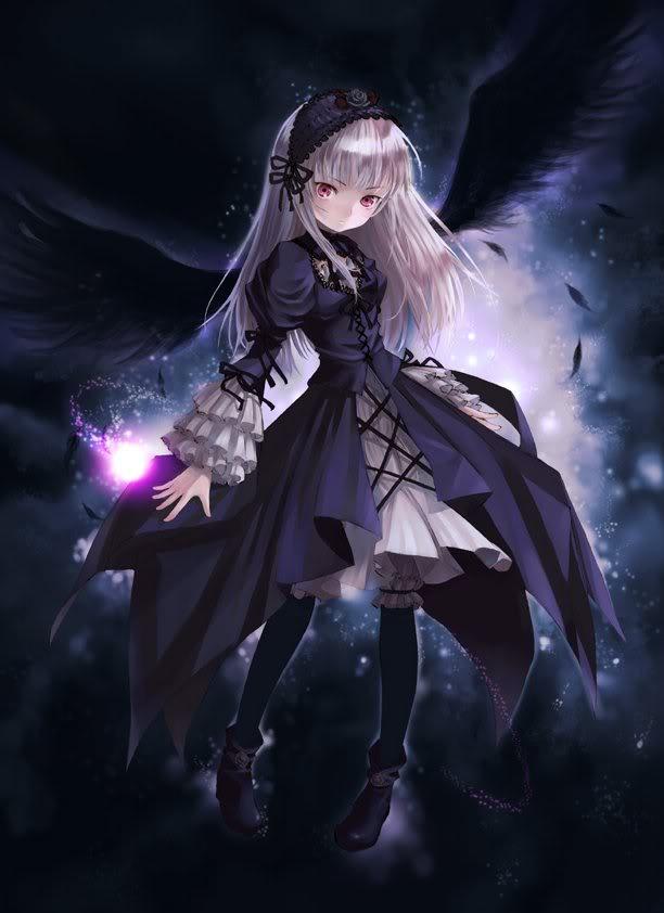 image dark anime girl jpg animal jam clans wiki fandom powered