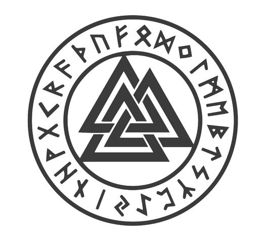 Image Pagan Symbols Odins Knot Valknut Meaningg Animal Jam