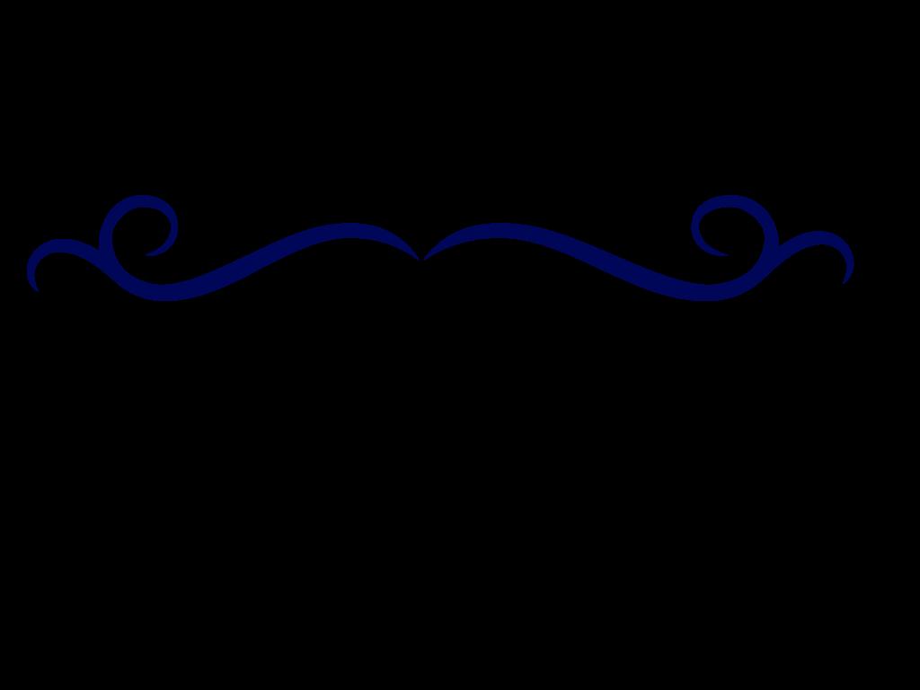 File:Single Line Border Clipart Dark Blue Swirl Divider on Swirl Page Break