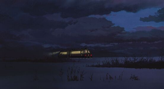 Spirited away train