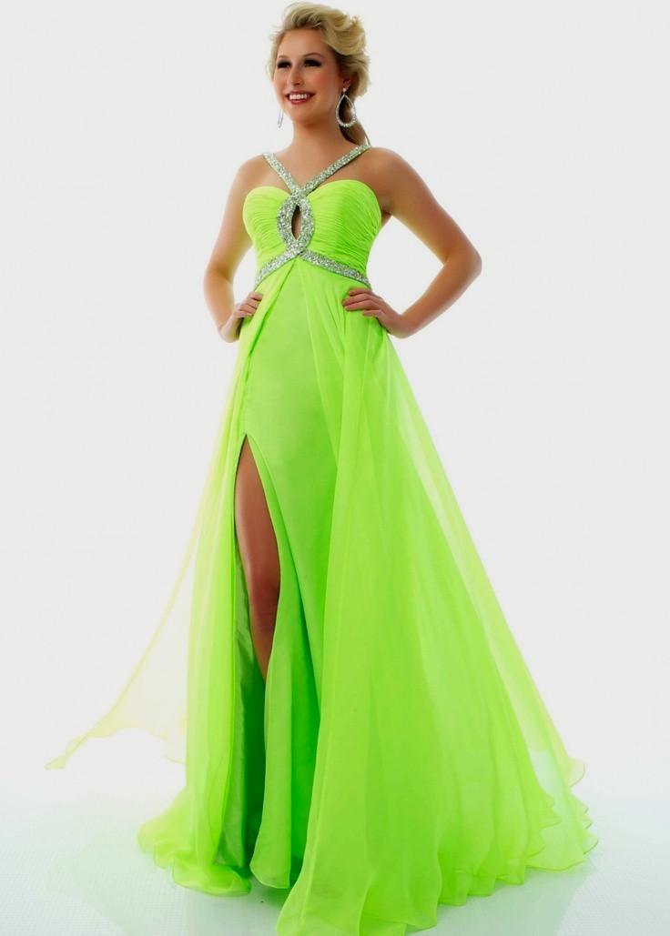 Image Lime Green Prom Dress Prom Dresses Pinterest Lime Green