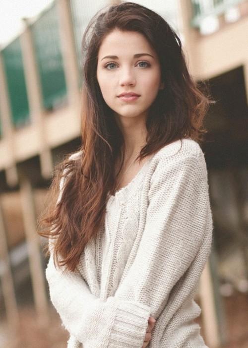 Image Adorable Beautiful Brunette Cute Favim Com 916335