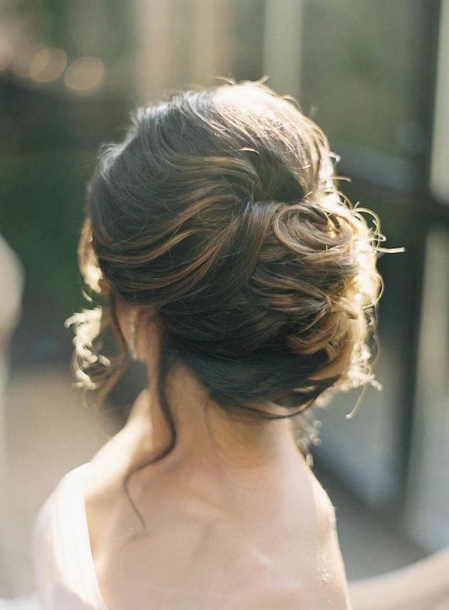 Low Bun Upstyle Wedding Hair Inspiration Bridal Musings Blog 15 1 Jpg