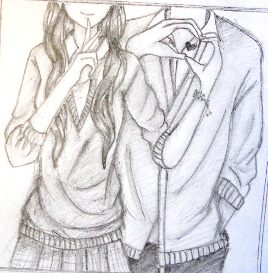 Cute Love Drawing Tumblr Hd Couple By Greengirl911 On Deviantart