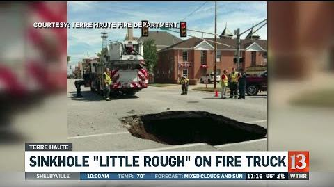 Terre Haute sinkhole