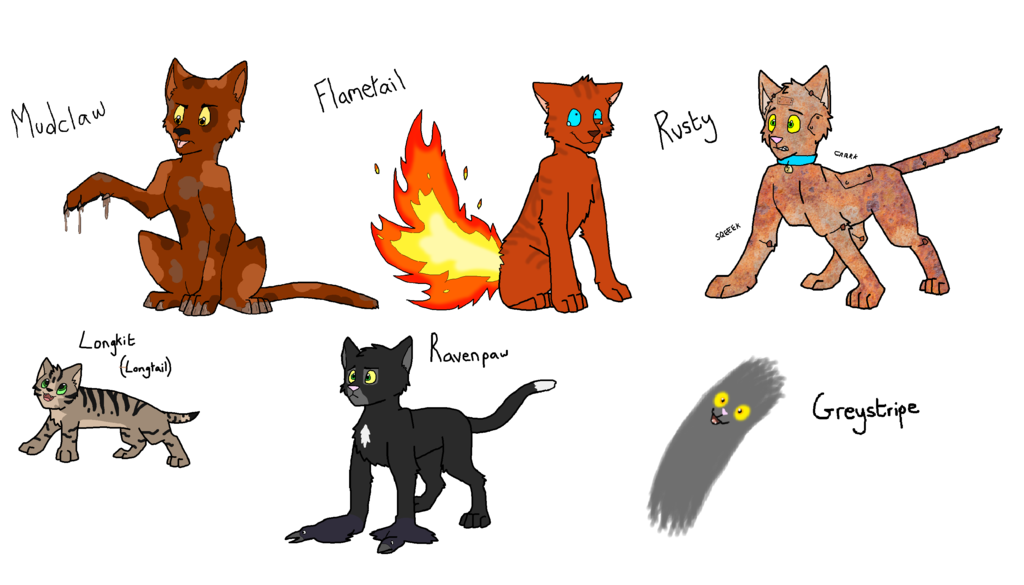 image literal warrior cats part 1 by sooty123 d9tzo7a png animal