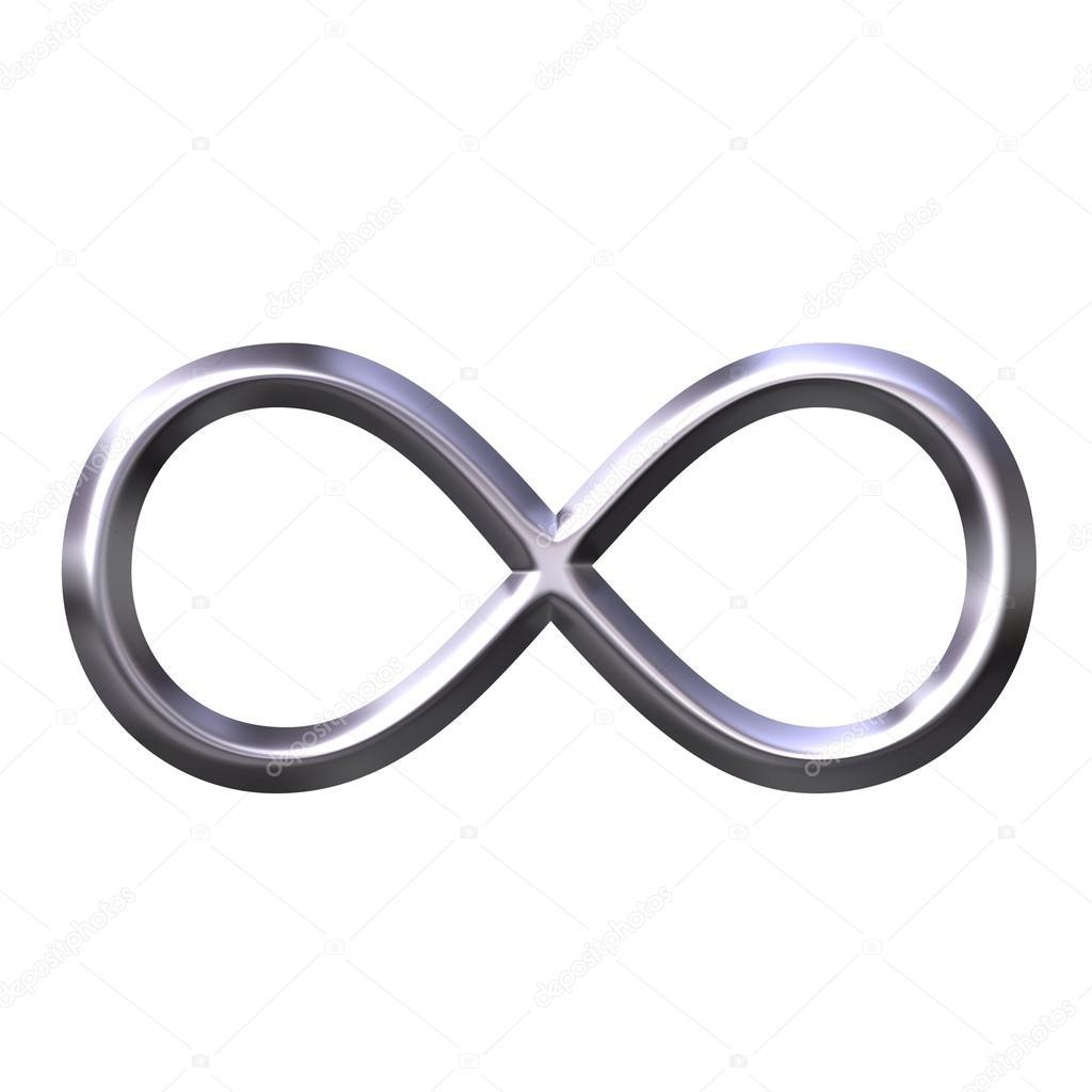 Image Depositphotos 1403437 Stock Photo 3d Silver Infinity Symbol