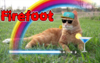 Lol Firefoot chilling drinking image