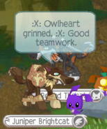 Moments before Owlheart's Death