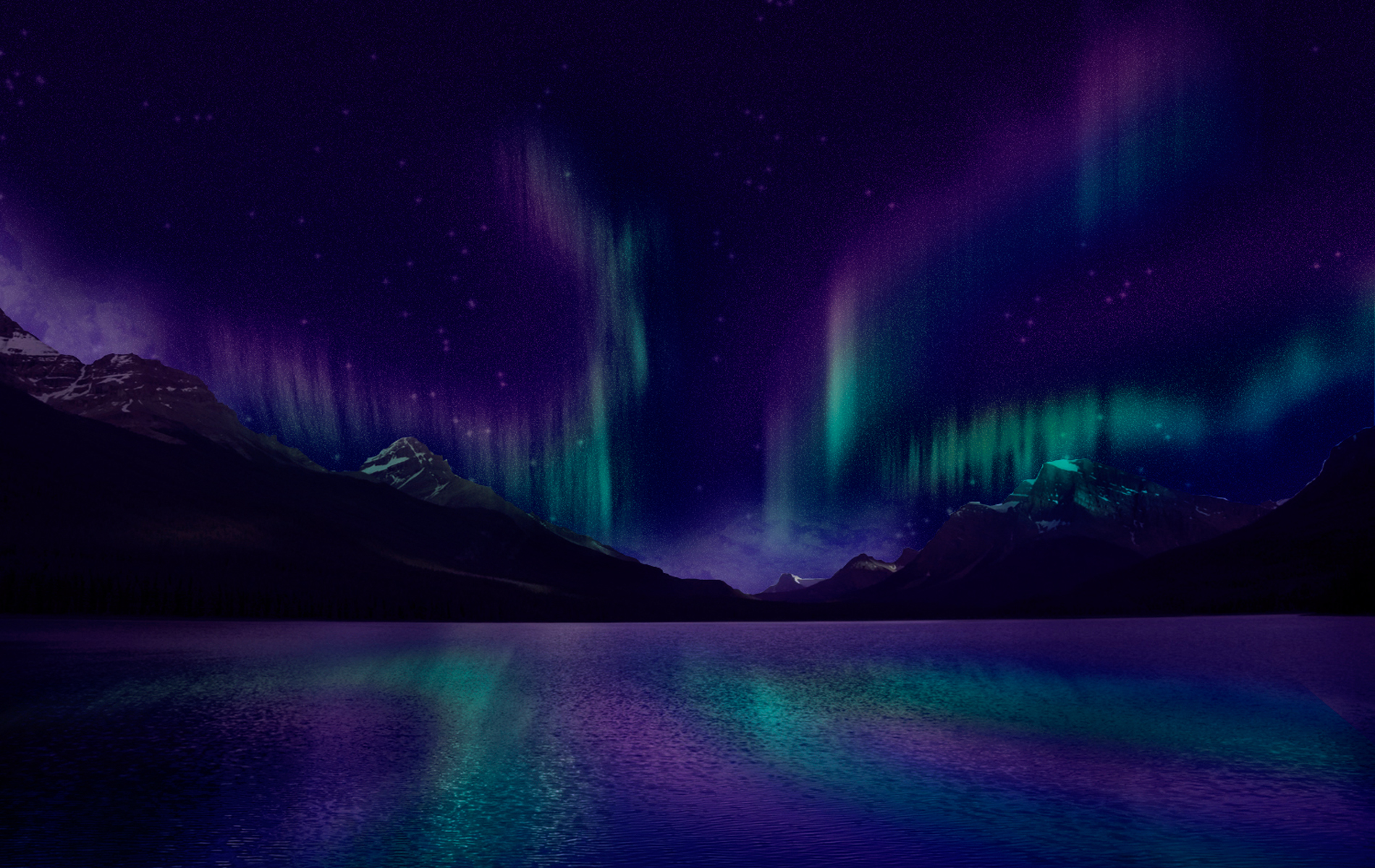 image - blue-and-purple-aurora-borealis-wallpaper-3 | animal jam