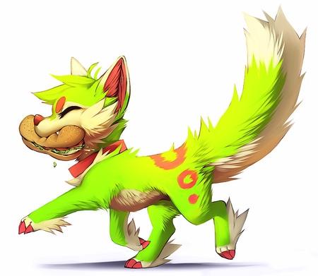 Desktop Cute Cartoon Wolf Pictures Download