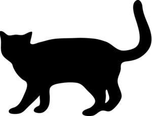 image black kitten clipart cat walking with tail up in a rh animal jam clans wikia com Banana Clip Art Cat Clip Art