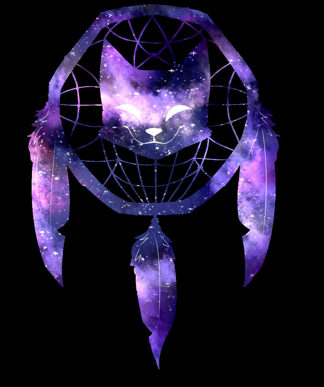 Image - Galaxy cat dream catcher by katauroramist-d985bcv ...