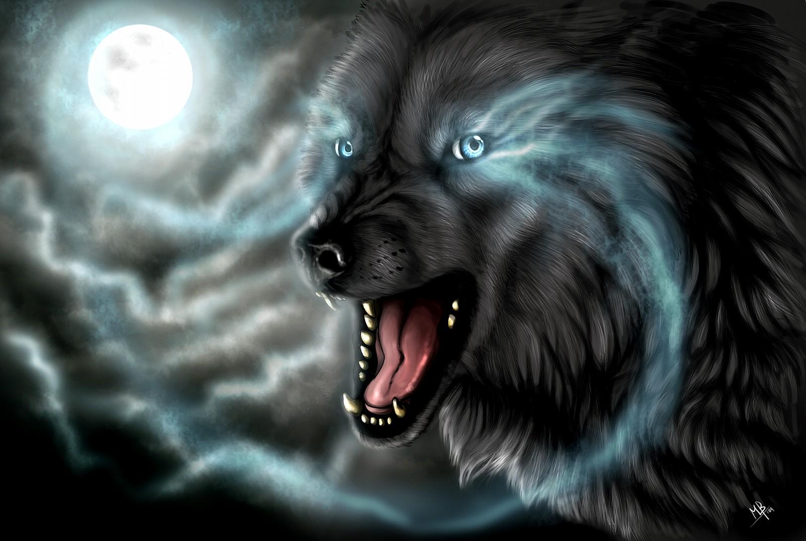 Wolf Design Fantasy Hd Jpg