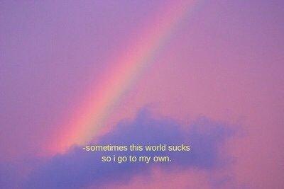 image cool autumn memes aesthetic quote rainbow sad tumblr image