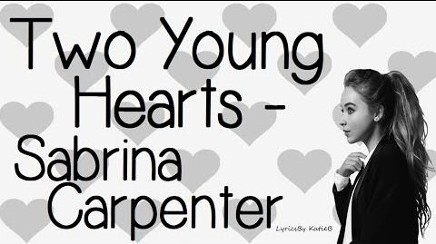 Two Young Hearts (With Lyrics) - Sabrina Carpenter-0