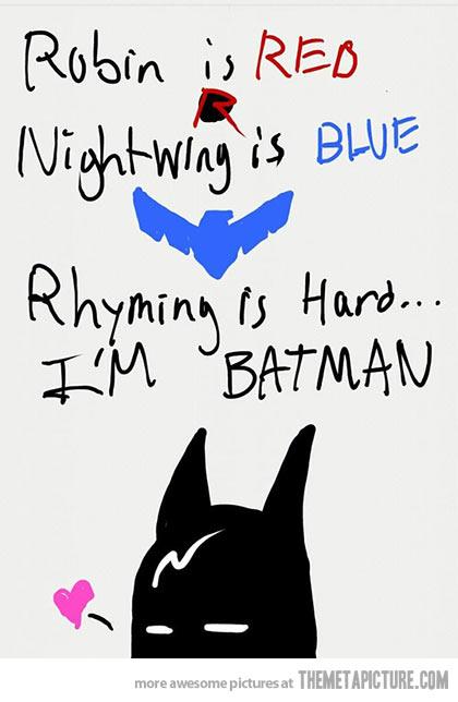 Funny Valentines Day Poem Batman Jpg