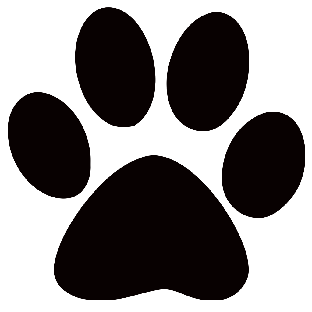 Image Cougar Paw Print Clip Art 1024x1024 Png Animal