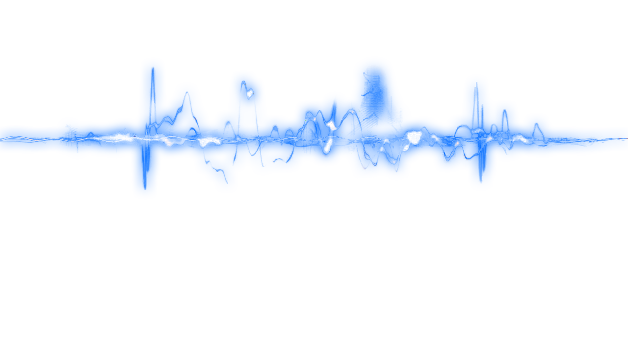 Blue Glow Line Png 22