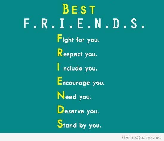 4 Best Friend Quotes