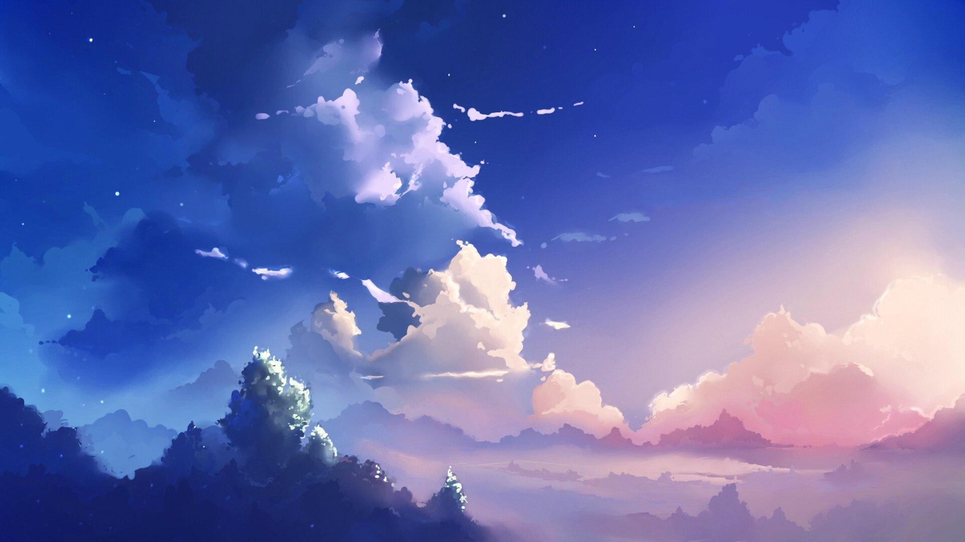 585462636 Anime Scenery Wallpaper