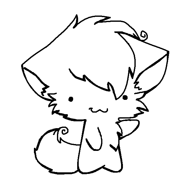 Anime Warrior Cat Coloring Pages 23313