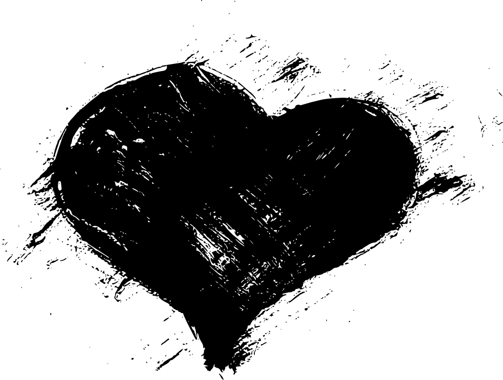 Heartbeat Png Transparent Black: Image - Black-Heart-PNG-Free-Download.png