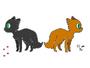 Free blank chibi cat reference sheet by rileychu-d7nwoqv