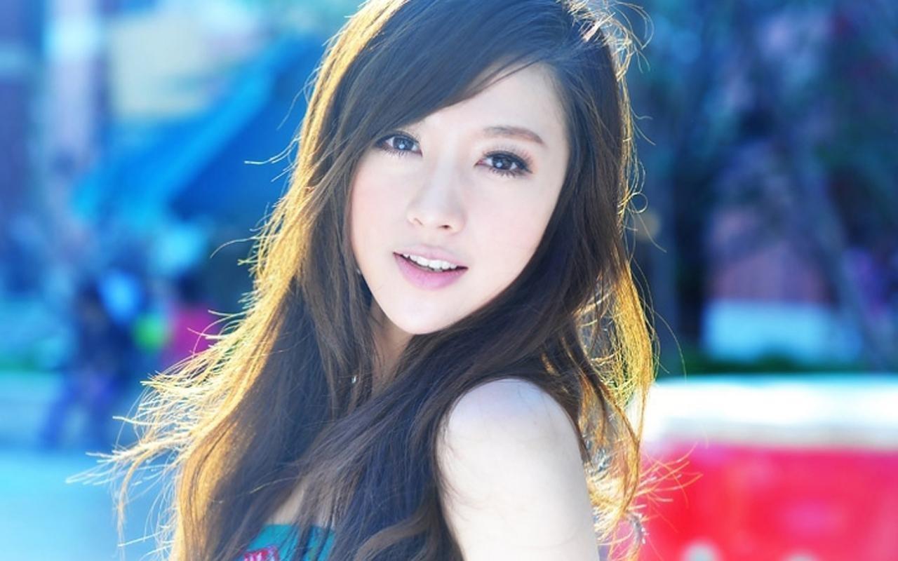 Asian girl pciture