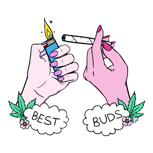 how to ask friend for weed