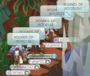 HOUNDS OF HOODLES