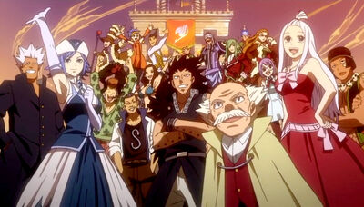 Wizards of fairy tail