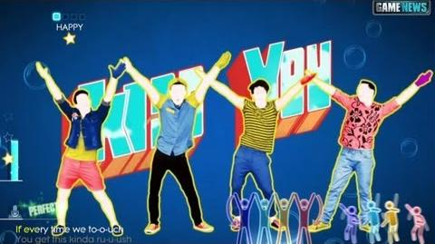 Just Dance 2014 ONE DIRECTION Kiss You
