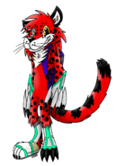 Kniro the Amur Leopard - Lippies V.6