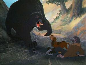 Bear (Fox & the Hound)