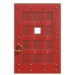 NH-House Customization-red iron door (square)