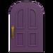 NH-House Customization-purple common door (round)
